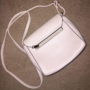 Handbags - NWOT Basic White Crossbody Purse